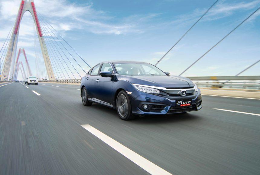 Honda Civic 2017 tại Thái Nguyên