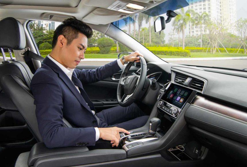 Nội thất Civic 2017 tại Honda Ôtô Thái Nguyên
