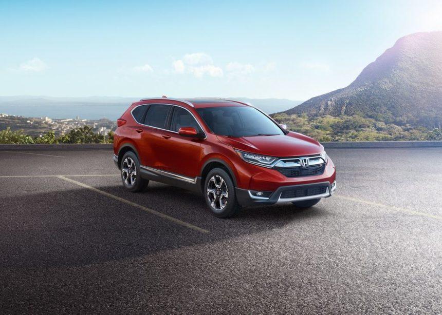 Ngoại thất CRV 2017 - Honda ô tô Thái Nguyên