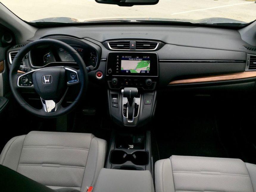 Nội thất CRV 2017 - Honda ô tô Thái Nguyên
