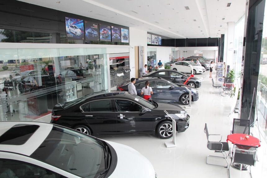 Showroom Honda Ôtô Thái Nguyên