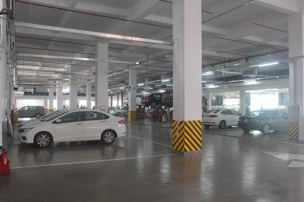 Xưởng Dịch vụ - Honda Ôtô Thái Nguyên