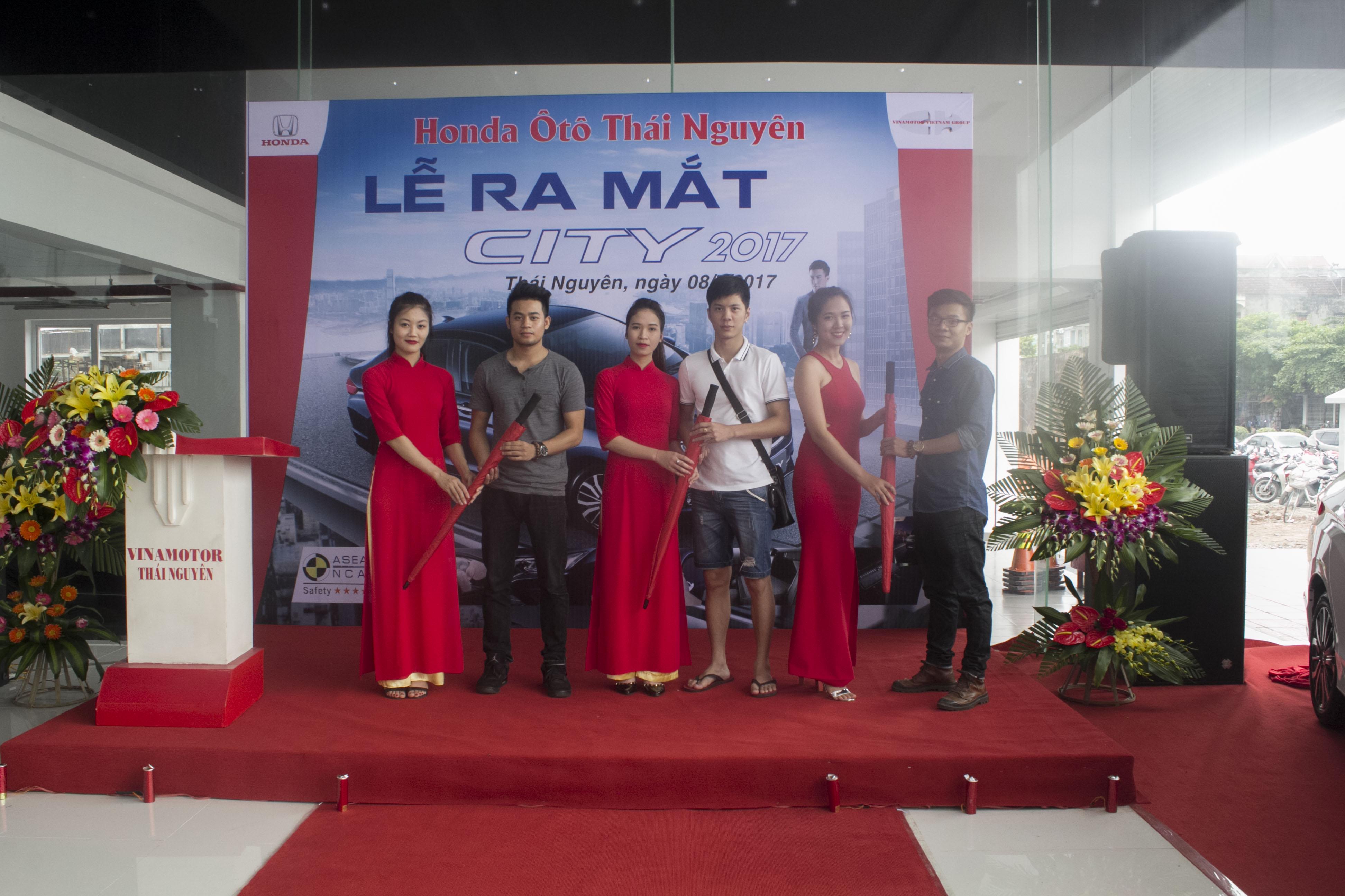lễ ra mắt Honda City 2017 - Honda Ôtô Thái Nguyên
