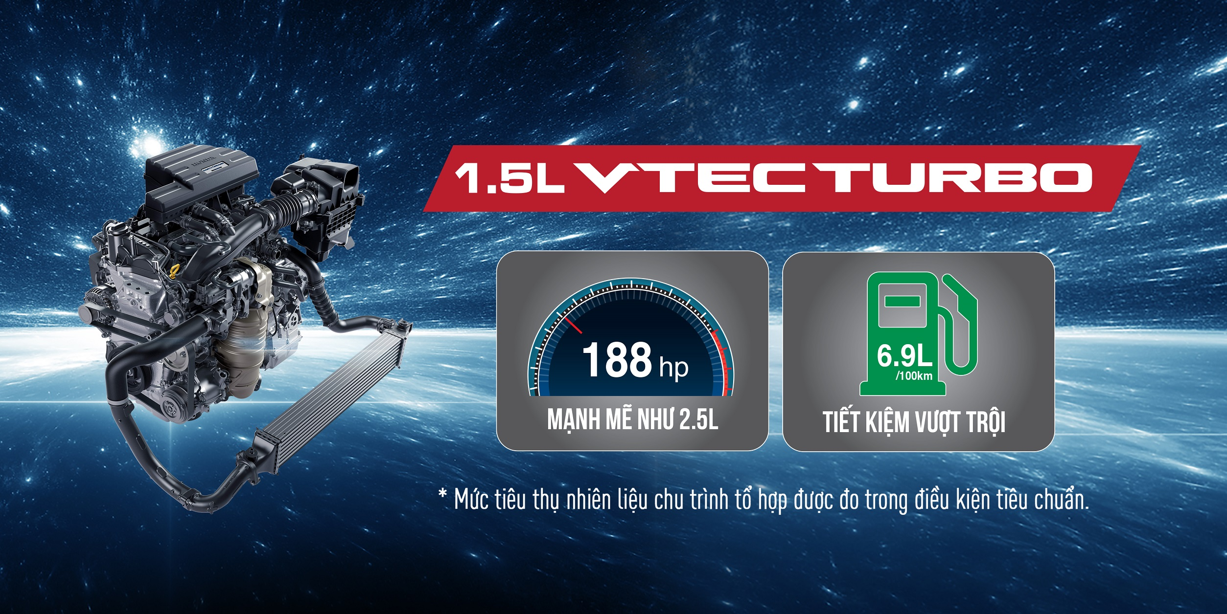 Dong co VTEC TURBO CR-V 2018
