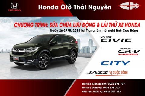 lái thử & PM mobile tại Cao bằng
